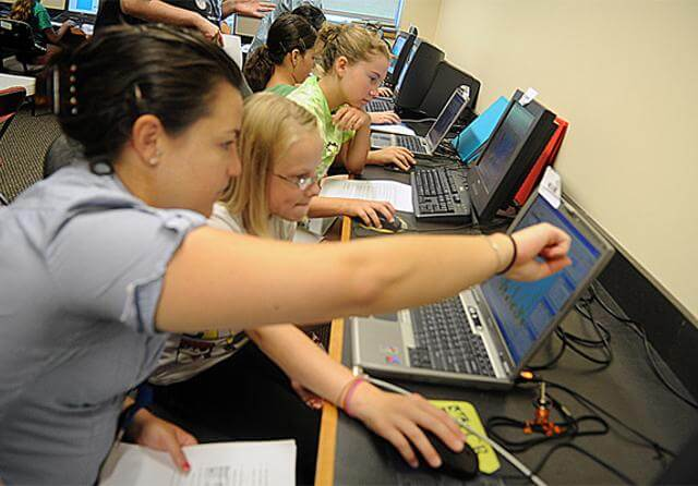 kurs programowania dla dziewczynek