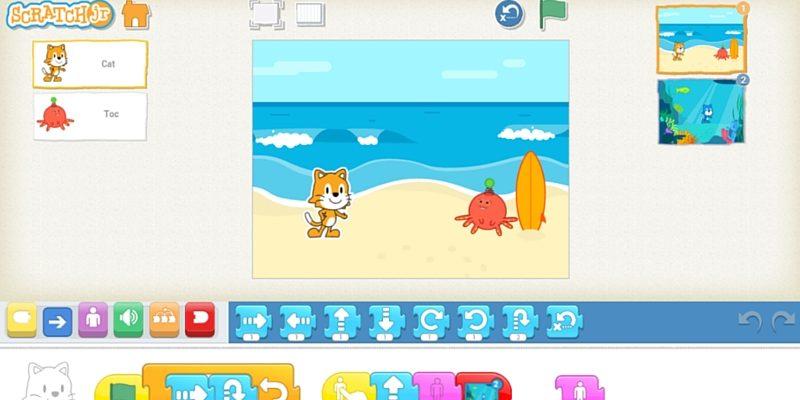 aplikacja dla dzieci scratchjr