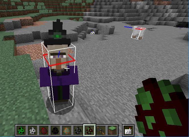 minecraft hitbox
