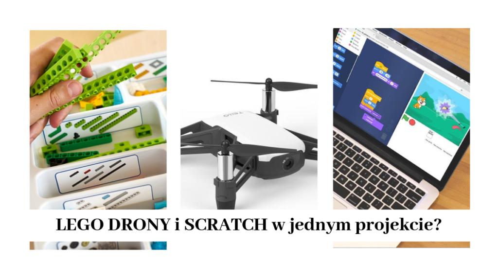 Scratch drony lego