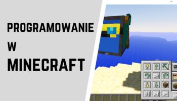 programowanie w minecraft naglowek