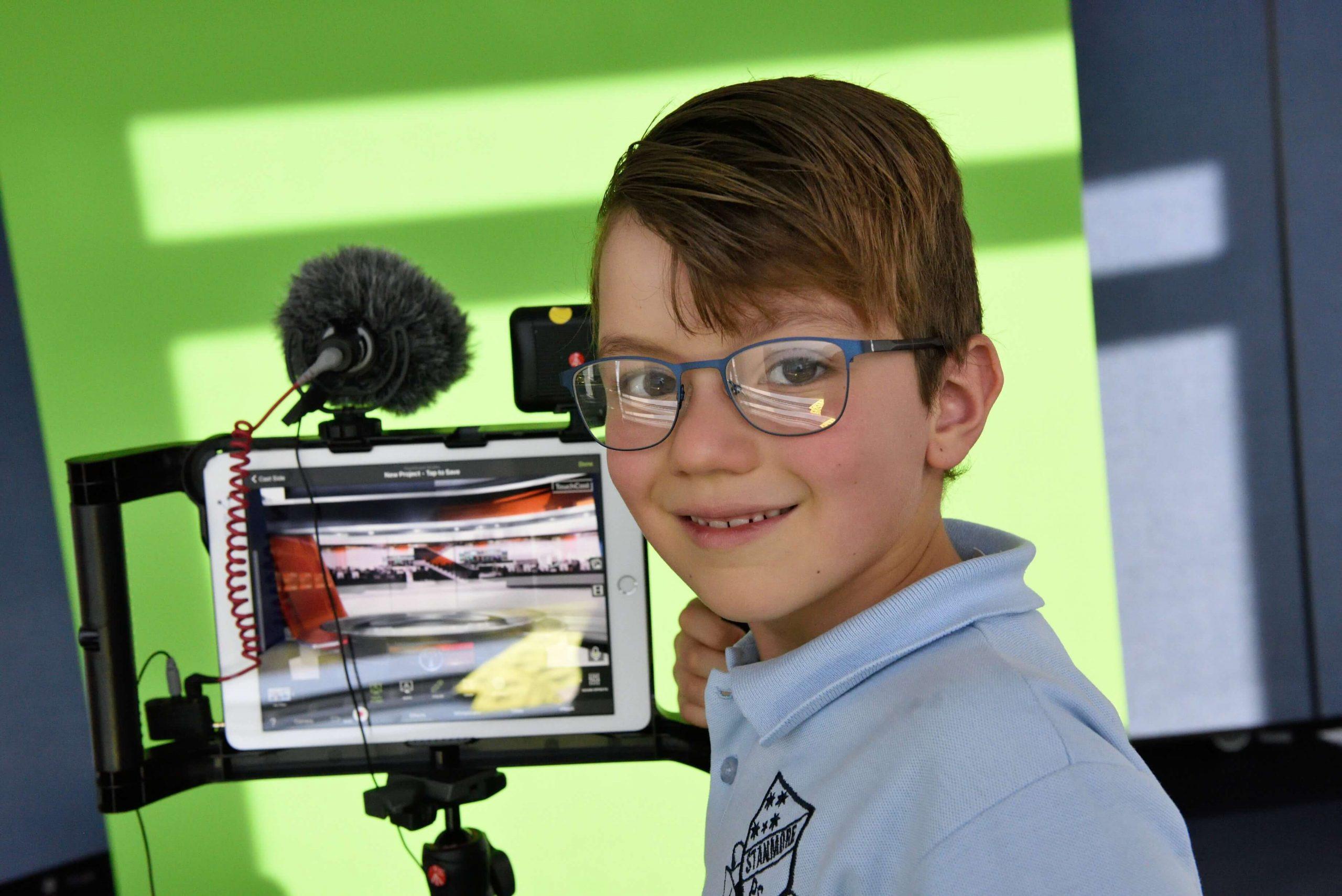 Youtube dla dzieci greenscreen